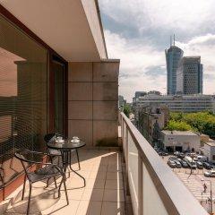 Отель Chill Apartments Warsaw Center Польша, Варшава - отзывы, цены и фото номеров - забронировать отель Chill Apartments Warsaw Center онлайн балкон