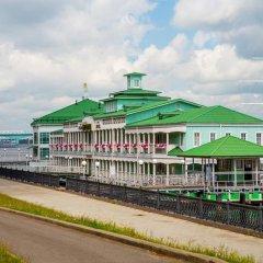 Отель Волжская Жемчужина Ярославль приотельная территория фото 2
