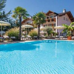Hotel Christine Гаргаццоне бассейн