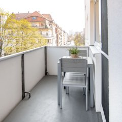 Отель StayS Apartments Германия, Нюрнберг - отзывы, цены и фото номеров - забронировать отель StayS Apartments онлайн балкон