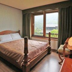 Отель Chalet Resort Южная Корея, Пхёнчан - отзывы, цены и фото номеров - забронировать отель Chalet Resort онлайн комната для гостей фото 3