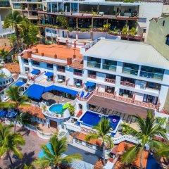 Отель Playa Conchas Chinas Пуэрто-Вальярта бассейн фото 2