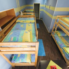 Мини-Отель Компас Кровать в общем номере с двухъярусной кроватью фото 4