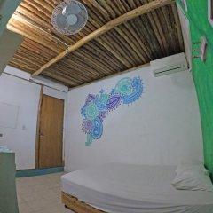 Отель Hostel Playa by The Spot Мексика, Плая-дель-Кармен - отзывы, цены и фото номеров - забронировать отель Hostel Playa by The Spot онлайн комната для гостей фото 4