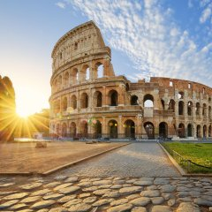 Отель Locazione Turistica Pantheon Luxury Рим вид на фасад