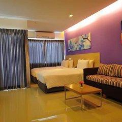 Отель Glow Central Pattaya Паттайя комната для гостей фото 8