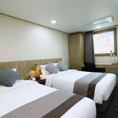 Отель Golden City Hotel Dongdaemun Южная Корея, Сеул - отзывы, цены и фото номеров - забронировать отель Golden City Hotel Dongdaemun онлайн комната для гостей фото 4