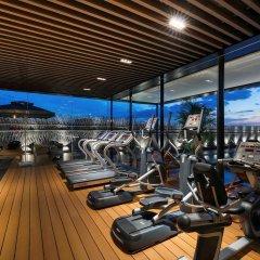 Отель Novotel Shanghai Clover фитнесс-зал фото 2