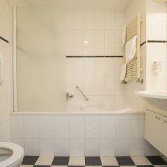 Отель Fletcher Hotel - Resort Spaarnwoude Нидерланды, Велсен-Зюйд - отзывы, цены и фото номеров - забронировать отель Fletcher Hotel - Resort Spaarnwoude онлайн ванная