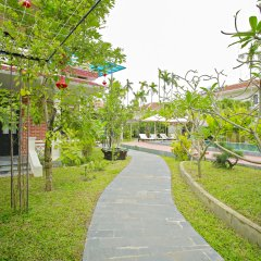 Отель Hoi An Red Frangipani Villa фото 8
