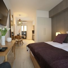 Апартаменты Happiness Luxury Central Apartment Афины комната для гостей