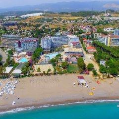 Meridia Beach Hotel Турция, Окурджалар - отзывы, цены и фото номеров - забронировать отель Meridia Beach Hotel онлайн пляж