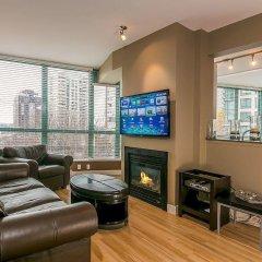 Отель Luxury 3 Bed Private Apartment in Central Downtown Канада, Ванкувер - отзывы, цены и фото номеров - забронировать отель Luxury 3 Bed Private Apartment in Central Downtown онлайн интерьер отеля фото 2