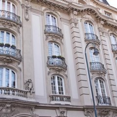 Отель Pension Museum Австрия, Вена - 1 отзыв об отеле, цены и фото номеров - забронировать отель Pension Museum онлайн вид на фасад