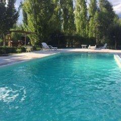 Отель Cabañas Y Suites Villa Bonita Вейнтисинко де Майо бассейн фото 2