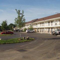 Отель Kozy Inn Columbus Колумбус парковка