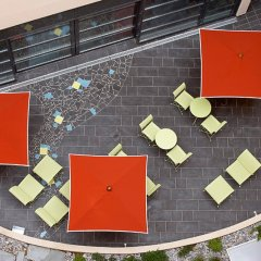 Отель Novotel Suites Cannes Centre балкон
