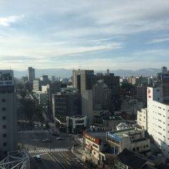 Отель Apa Villa Toyama - Ekimae Тояма балкон