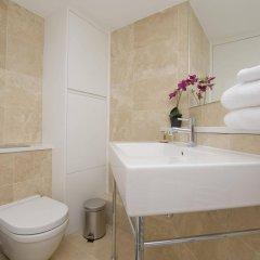 Отель Upper Berkeley Street Flats Великобритания, Лондон - отзывы, цены и фото номеров - забронировать отель Upper Berkeley Street Flats онлайн ванная