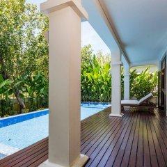 Отель Secret Garden Villas-Furama Beach Danang бассейн