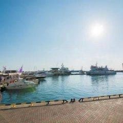 Гостиница Hostel Port Sochi в Сочи 1 отзыв об отеле, цены и фото номеров - забронировать гостиницу Hostel Port Sochi онлайн приотельная территория фото 2