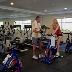 Отель Grand Bahia Principe Aquamarine фитнесс-зал фото 2