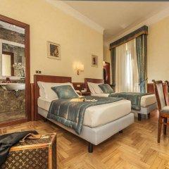 Отель Nord Nuova Roma 3* Стандартный номер с различными типами кроватей фото 16