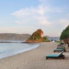 Отель The Villas at Novotel Lombok пляж