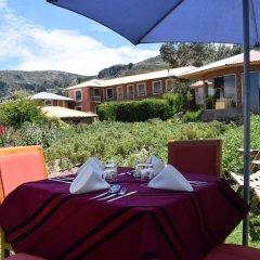 Отель Titicaca Lodge питание фото 2