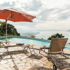 Отель Luxury Italian Lakes Villa With Private Pool, Gym, Bbq, Free Wifi, Lake Views Вербания бассейн фото 3