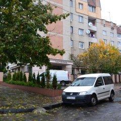 Hotel Sacvoyage Львов парковка