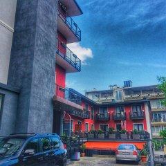 Гостиница Альянс парковка