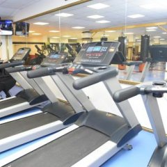 Гостиница Continent фитнесс-зал фото 2