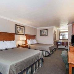 Отель Travelodge by Wyndham Sylmar CA США, Лос-Анджелес - отзывы, цены и фото номеров - забронировать отель Travelodge by Wyndham Sylmar CA онлайн комната для гостей фото 2