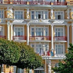 Отель Danubius Health Spa Resort Hvězda-Imperial-Neapol вид на фасад фото 2