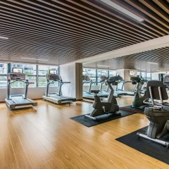 Отель Springdale Serviced Residence Гуанчжоу фитнесс-зал фото 4