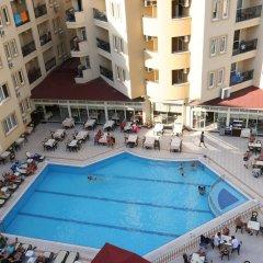 Отель Kleopatra Royal Palm Аланья бассейн фото 2