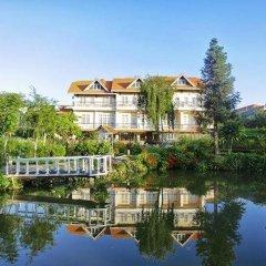 Отель Dalat Terrasse Des Roses Villa Далат приотельная территория