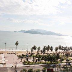Happy Light Hotel Nha Trang пляж