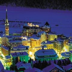 Отель Crystal Hotel superior Швейцария, Санкт-Мориц - отзывы, цены и фото номеров - забронировать отель Crystal Hotel superior онлайн балкон