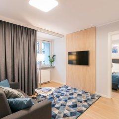 Отель Q17 Apartments Польша, Вроцлав - отзывы, цены и фото номеров - забронировать отель Q17 Apartments онлайн комната для гостей фото 4