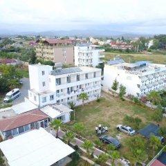 Отель Mavi Cennet Camping Pansiyon Сиде балкон