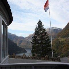 Отель Hotell Utsikten Geiranger - by Classic Norway балкон