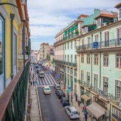 Отель Casual Belle Epoque Lisboa балкон