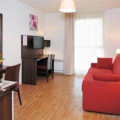 Отель Séjours et Affaires Paris Malakoff Франция, Малакофф - 4 отзыва об отеле, цены и фото номеров - забронировать отель Séjours et Affaires Paris Malakoff онлайн комната для гостей фото 3