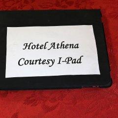 Отель Albergo Athena интерьер отеля