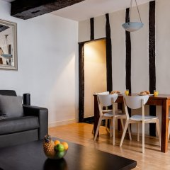 Апартаменты Central Paris - Chatelet Apartment Париж комната для гостей фото 2