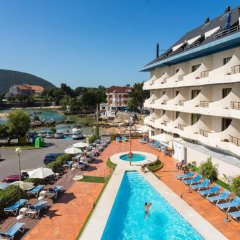 Отель Astuy Apartamentos Испания, Арнуэро - отзывы, цены и фото номеров - забронировать отель Astuy Apartamentos онлайн бассейн фото 3