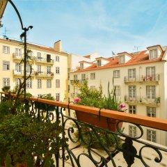 Отель Lost Lisbon - Chiado Португалия, Лиссабон - отзывы, цены и фото номеров - забронировать отель Lost Lisbon - Chiado онлайн балкон