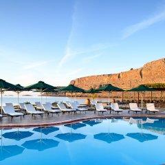 Отель Mitsis Lindos Memories Resort & Spa Греция, Родос - отзывы, цены и фото номеров - забронировать отель Mitsis Lindos Memories Resort & Spa онлайн бассейн фото 2